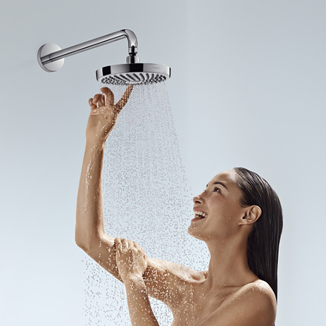 Shower Head With Select Technology By Hansgrohe.