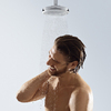 Crometta overhead shower EcoRight 9 l/min.