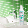 hansgrohe foam limescale remover: a shiny mixer.