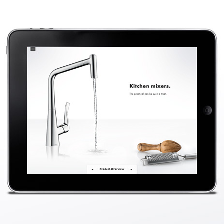 interactive catalogue virtual showroom hansgrohe. Black Bedroom Furniture Sets. Home Design Ideas