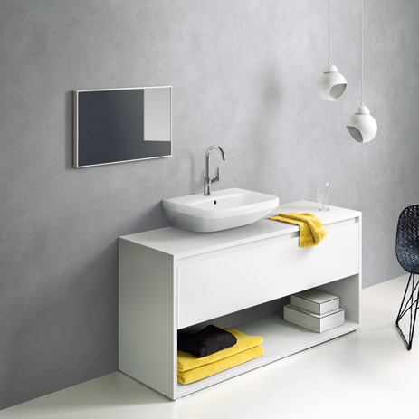 Sehr Logis mixer: clear-cut design for your bathroom | Hansgrohe INT ZV68