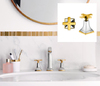 Metropol Classic with star handles on the wash basin