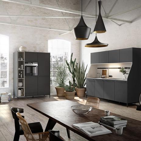 Trend: offene Küche verbindet Kochen und Wohnen |