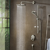 hansgrohe overhead shower with PowderRain.
