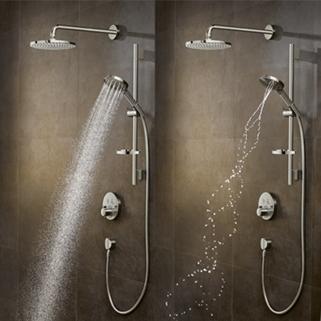 Raindance Select S with PowderRain | Hansgrohe AU / NZ