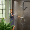 hansgrohe-Showerpipe med PowderRain.