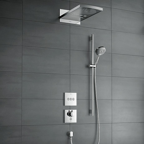 Select neue unterputzl sungen f rs bad hansgrohe at - Douche encastrable hansgrohe ...