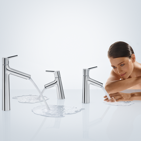 Elegant New Talis S Faucets From Hansgrohe.