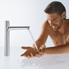 Functionality of the new Talis Select E faucet.