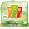 Weleda natural cosmetics shower products.