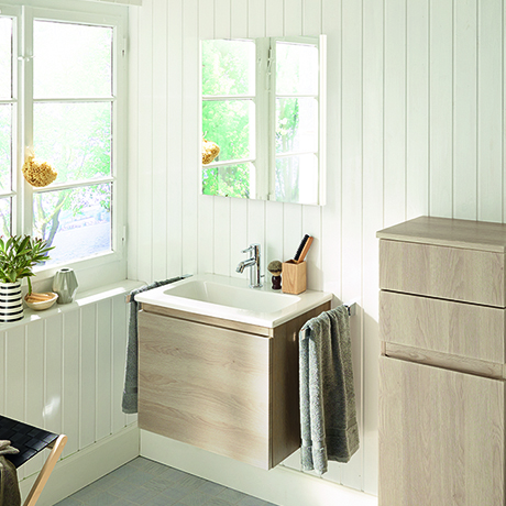 Le pareti grezze in bagno sono alla moda | Hansgrohe SRL