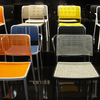 Colors give a sense of orientation: Everyone can find their seat (again). A meeting of colors at trendsetter Kartell.
