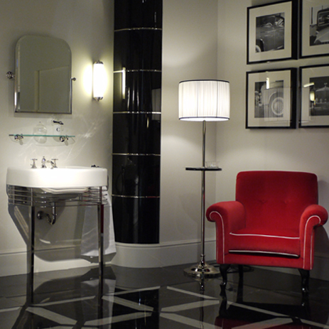 Badkamertrend kleur in de badkamer hansgrohe nl - Kleur trend salon ...