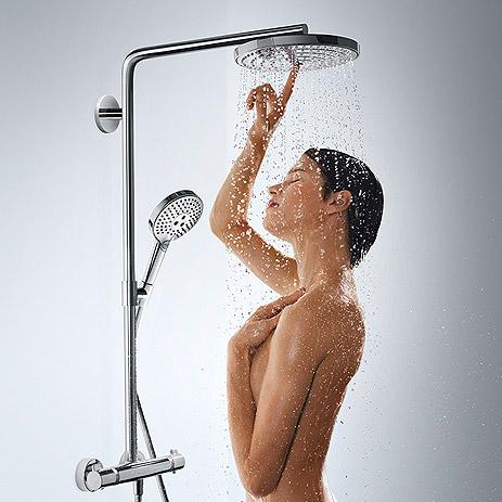 bathroom trend cross generation bathroom hansgrohe int. Black Bedroom Furniture Sets. Home Design Ideas