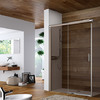 Floor-level shower with Axor Starck Organic.