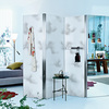 The Axor Urquiola paravent with cloud pattern. It is both a radiator and room divider.