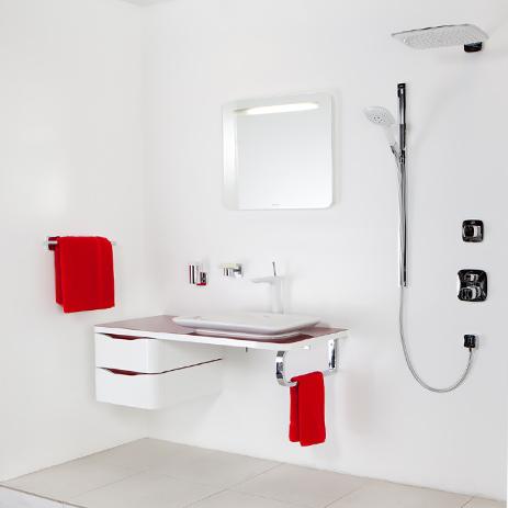 Hansgrohe Shower Control · Pura Vida Presentation