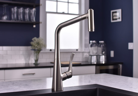 HighArc Kitchen Faucet, 2-Spray Pull-Out, 1.75 GPM