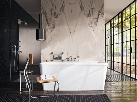 axor citterio mitigeurs bain douche m langeur 2 sorties 2 fonctions chrom n article 39445000. Black Bedroom Furniture Sets. Home Design Ideas