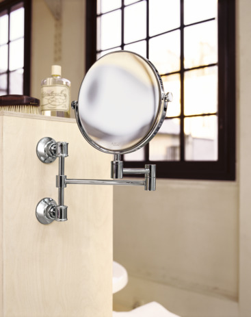 AXOR Montreux Pull-Out Shaving Mirror