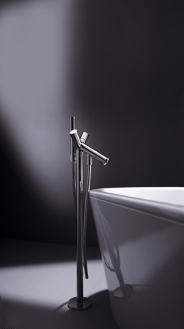 Axor Starck Freestanding 2-Handle Tub Filler Trim, 2.0 GPM