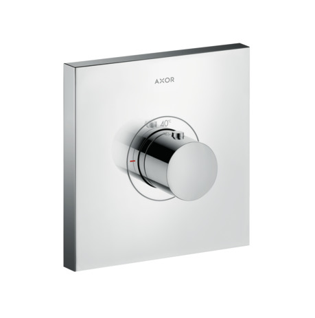 ShowerSelect thermostatic mixer highflow Square for concealed installation