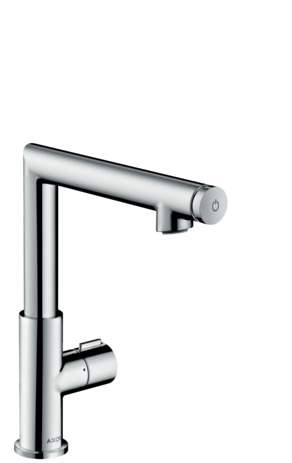 Select basin mixer 220 with pop-up waste
