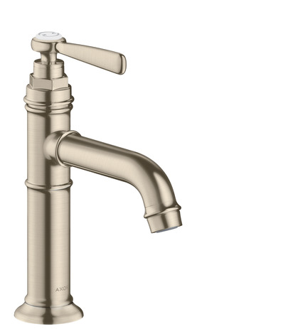Single lever basin mixer 100 without pop-up waste