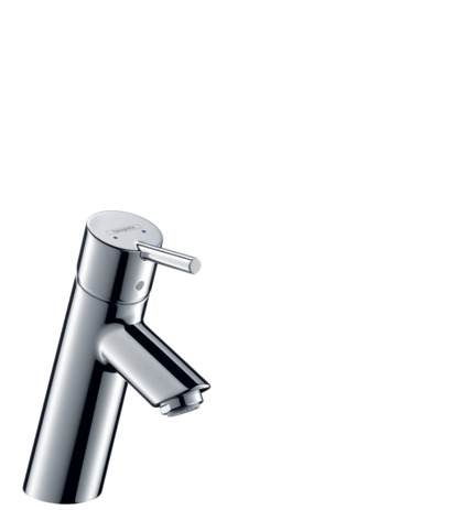 Single lever basin mixer 80 with pop-up waste set