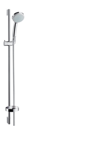 Shower set Vario with shower bar 90 cm and soap dish
