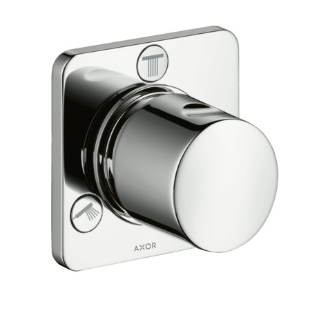 Trio/ Quattro shut-off/ diverter valve for concealed installation