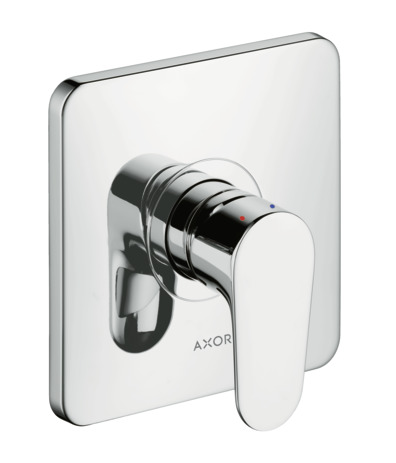 axor citterio m shower mixers designed to run 1 outlet chrome 34625000. Black Bedroom Furniture Sets. Home Design Ideas