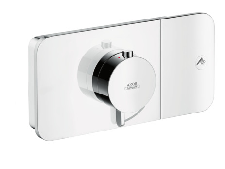 Thermostatic module for concealed installation for 1 outlet
