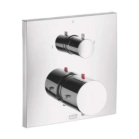 Axor Starck X Thermostatic Trim with Volume Control and Diverter