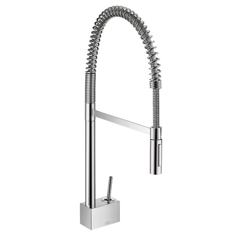 Axor Starck 2-Spray Semi-Pro Kitchen Faucet