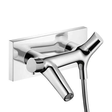 Axor Starck Organic Thermostatic Wall-Mounted Tub Filler