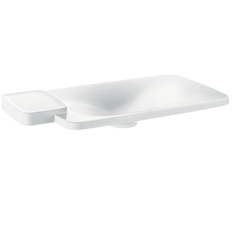 Axor Bouroullec Drop-In Washbasin with One Shelf, Large