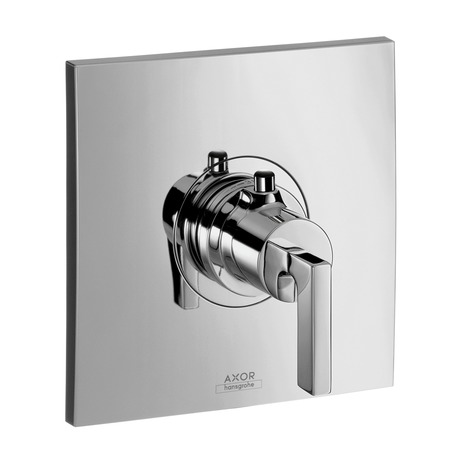 Axor Citterio Thermostatic Trim with Lever Handle, Highflow