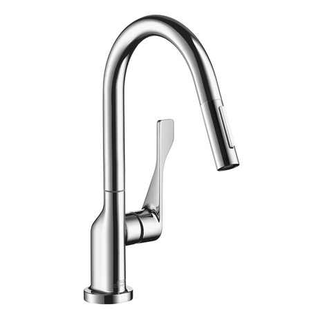 Axor Citterio 2-Spray Prep Kitchen Faucet, Pull-Down