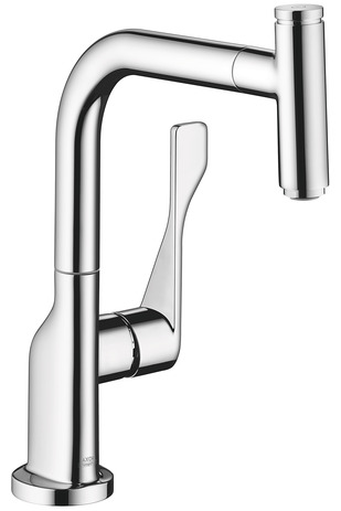 Axor Citterio Select 1-Spray Kitchen Faucet, Pull-Out, 1.75 GPM