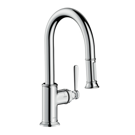 AXOR Montreux 2-Spray Prep Kitchen Faucet, Pull-Down, 1.75 GPM