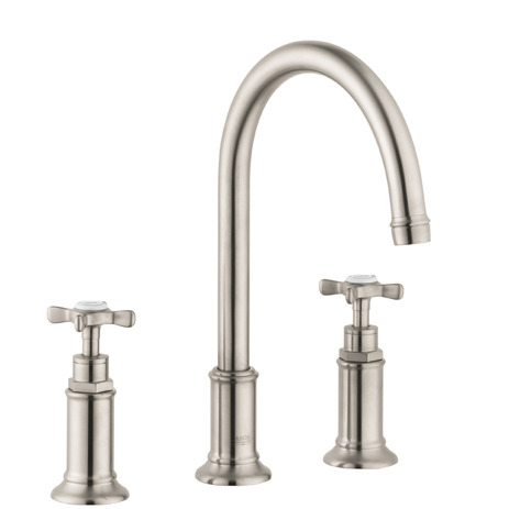 Axor Montreux Widespread Faucet with Cross Handles, 1.2 GPM