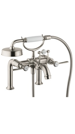 Axor Montreux Rim-Mounted Tub Filler with Lever Handles