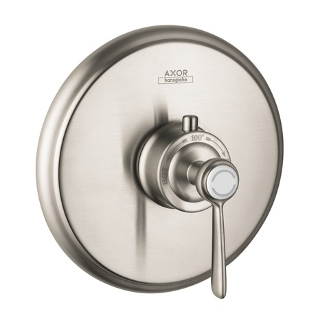 Axor Montreux Thermostatic Trim with Lever Handle, Highflow