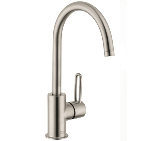Axor Uno Single-Hole Faucet, High Spout