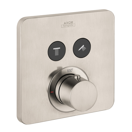 AXOR ShowerSelect SoftCube Thermostatic 2-Function Trim
