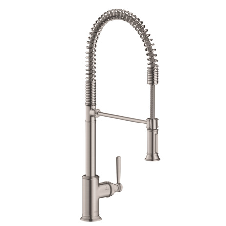 Axor Montreux 2-Spray Semi-Pro Kitchen Faucet