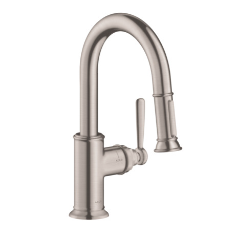 Axor Montreux 2-Spray Prep Kitchen Faucet, Pull-Down