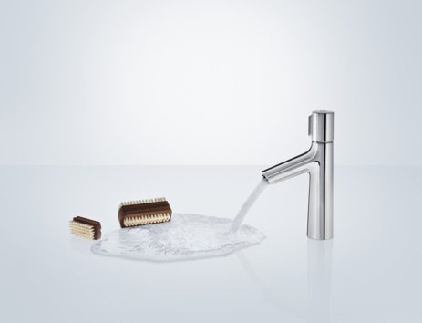 Basin mixer 100 with pop-up waste