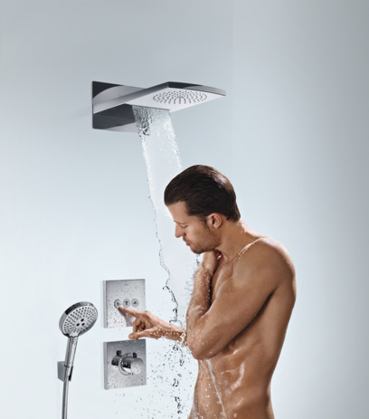 Raindance Rainfall 180 Air 2jet overhead shower